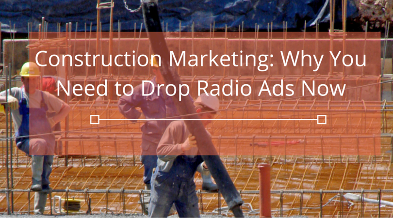 Construction advertising