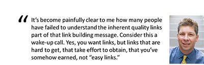 danny sullivan talking link building
