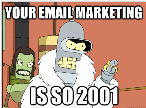 email automation meme