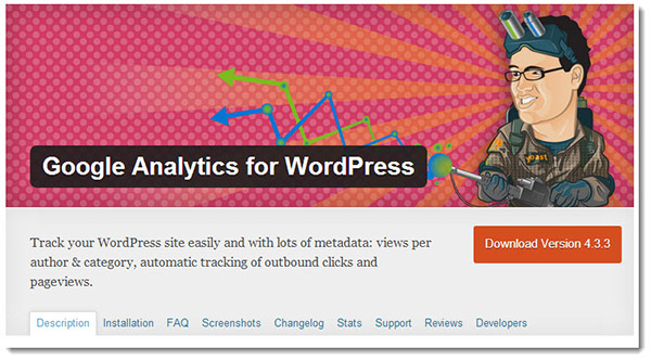 analytics for wordpress