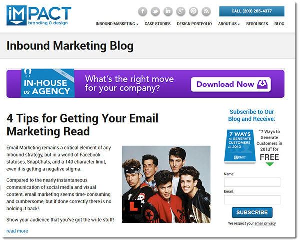 impact branding and media