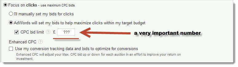 maximum cost per click